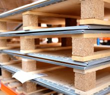 Reusable Packaging Plywood and Plastic product