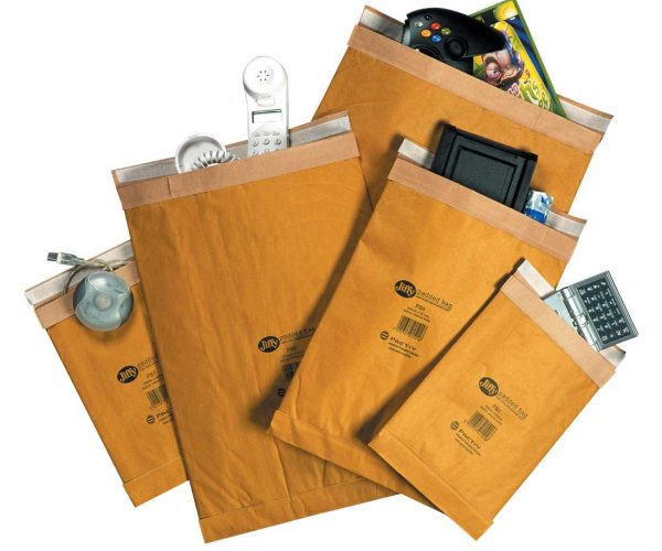 Padded Bags and Bubble Mailers